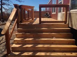 deck gate deck railing gate large raised deck with railing gate