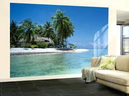 beach room wallpaper custom boiler com living room wallpaper murals beach throughout images of wall muralsbeach sunset bedroom