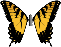 bullet with butterfly wings by 4nv17r34p3r on deviantart
