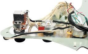 Seymour Duncan 59 Wiring Diagram Amazon Com Seymour Duncan Fat Everything Loaded Strat Pickguard