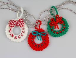 crochet wreath crochet pattern crochet wreath brooch