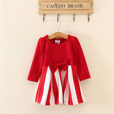 long sleeve red casual clothing old design kids bow