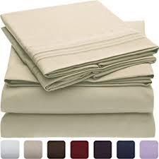 bed sheet quality amazon com 1 bed sheet set highest quality brushed microfiber