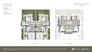 maple townhouses 3 five bedroom type 3 floor plan