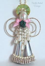 upcycled ornament thrifty rebel vintage