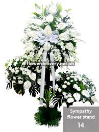 sympathy flowers delivery sympathy flower stand 14 flower delivery in metro manila