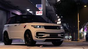 range rover sport dashboard range rover sport startech 2016 add on animated templated