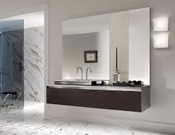 all white italian bathroom design with nice modern bathtub and
