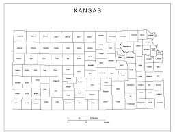 Map Of Wichita Ks Kansas Labeled Map