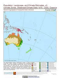 Oceania Blank Map by Map Gallery Sedac