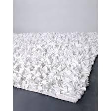 White Shaggy Rugs Chandra Rugs Ultra White Shag Rug Ult4105