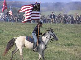 Cavalry Flag Photo Gallery U S National Park Service