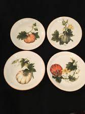 thanksgiving salad plates ebay