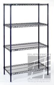 Commercial Wire Shelving by Nexel Stainless Steel Wire Shelving