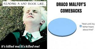 Memes S - 15 draco memes only true potterheads will appreciate