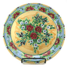 kiln house pottery kreyer s floral ceramic plates