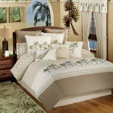 Bedspread And Curtain Sets Bedroom Turn Your Bedroom Into Tropical Look With Tropical