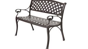 Vintage Cast Aluminum Patio Furniture - bench beautiful metal patio bench outdoor furniture makeovers