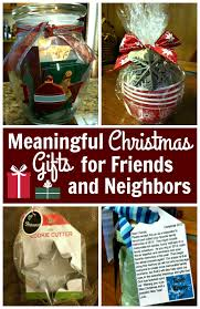 meaningful gifts for friends neighbors and teachers