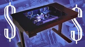 Expensive Computer Desks Most Expensive Desk Pc Lian Li Dk 04