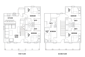 floor plans the cottages of durham student housing durham nh