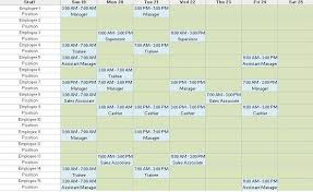 Employee Scheduling Excel Template Employee Schedule Template 20 Jul 2015 Pearltrees