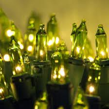 lights 50 chartreuse mini lights 6 spacing