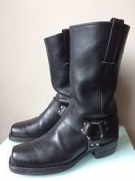 s frye boots size 9 s frye black leather harness boots size 9 5 ebay
