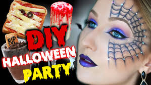 Halloween Party Makeup Diy Halloween Party Makeup Snacks U0026 Dekoration Thebeauty2go