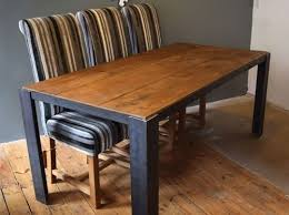 Industrial Dining Table H U0026f Plank Industrial Dining Table H U0026f Plank Dining Furniture