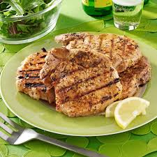 barbecued pork chops with rosemary lemon marinade recipe taste