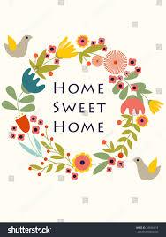 home sweet home poster eps 8 stock vector 308404418 shutterstock