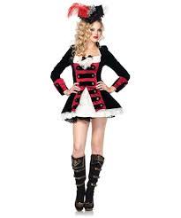 charming pirate captain costume women costumes