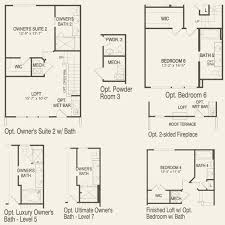 Wet Bar Floor Plans by Irving At Cameron Park In Alexandria Virginia Pulte
