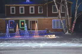 baker house boasts dancing lights this holiday season winter