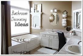 decorated bathroom ideas amusing cheap bathroom decor ideas genwitch at decorating home