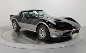 1978 white corvette 1978 corvette indy pace car with 39 cars on line