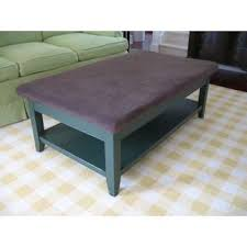 padded coffee table cover kid proof coffee table images table design ideas