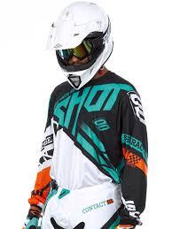 motocross jersey printing shot orange mint 2016 raceway contact mx jersey shot