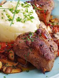 video recipe u003e australian lamb loin chops and mashed potatoes