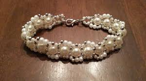 diy pearl bead bracelet images Beaded pearls bracelet jewelry diy beads creation jpg