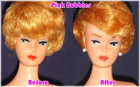 bubble cut hairstyle attack of the 50 foot barbie pink bubbles doll spa