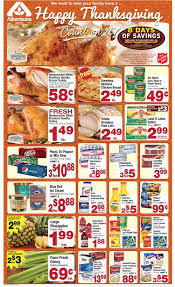 albertsons thanksgiving weekly ads november 2014