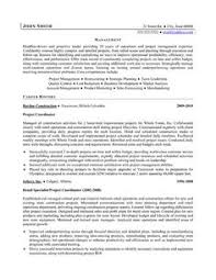 project coordinator resume resume for project coordinator sales coordinator lewesmr