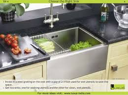 Space Saving Kitchen Sinks by Luxus Article Ideas For Small Space Kitchens