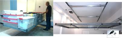 storage rolling cart auxx lift remote controlled motorized garage