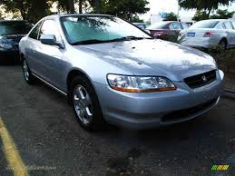 2000 honda accord ex v6 coupe in satin silver metallic 032062