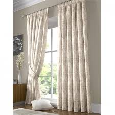 Demask Curtains Damask Patterned Ready Made Curtains Poundstretcher