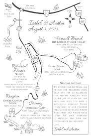 Park City Utah Map by Hand Drawn Wedding Maps U2014 Custom Map Design By Snappymap