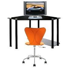Black Desk Target by Desk Small Corner Black Glass Computer Desk Large Corner Black